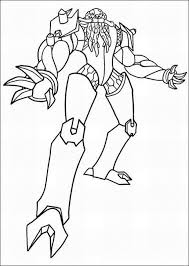 Ben 10 Omniverse Coloring Pages Games