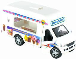 100 Action Truck Pullback Ice Cream Vending By KinsFun 5 Long