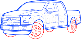 How To Draw An F-150 Ford Pickup Truck, Step By Step, Trucks ... Chevy Lowered Custom Trucks Drawn Truck Line Drawing Pencil And In Color Drawn Army Truck Coloring Page Free Printable Coloring Pages Speed Of A Youtube Sketches Of Pictures F350 Line Art By Ericnilla On Deviantart Mercedes Nehta Bagged Nathanmillercarart Downloads Semi 71 About Remodel Drawings Garbage Transportation For Kids Printable Dump Drawings Note9info Chevy