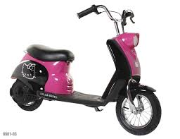 City Scooter With Hello Kitty Graphics Model Number 8801 03