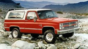 100 Blazer Truck These 12 SUVs Went Soft And Became Crossovers