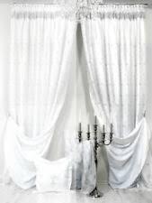 gardinen vorhänge im romantik stil fürs schlafzimmer