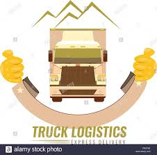 100 Trucking Company Logo The Old Vintage Logo For Trucking Company With The Image Of The