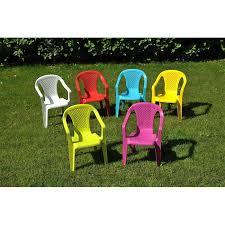 chaise de jardin enfant 1 fauteuil en résine enfant achat vente fauteuil jardin 1