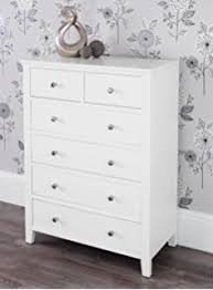 Brooklyn White 3 Drawer Chest white chest of drawers
