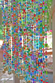 Glass Bead Curtains For Doorways by Beaded Curtain Hanging Beads Bohemian Curtain Boho Doorway