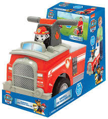 Paw Patrol Marshall Fire Truck Ride-On - Toys