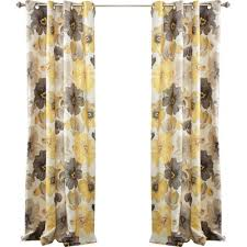 Thermal Curtain Liner Panels by Thea Floral Grommet Curtain Panel Pair U0026 Reviews Joss U0026 Main