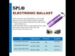spl皰 hydroponic 1000 watt hps mh digital dimmable electronic