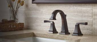 Delta Trinsic Bathroom Faucet Champagne Bronze by Dryden Bathroom Collection Delta Faucet