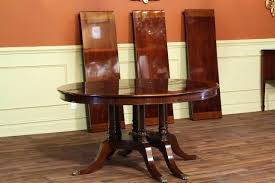 dining room table leaves replacement leaf pads slides oak with two