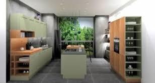 nolte landhaus küche u inselküche lack olive grün
