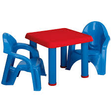 Shop American Plastic Toy Table And Chairs Set - Blue/Red - Free ... Greek Style Blue Table And Chairs Kos Dodecanese Islands Shabby Chic Kitchen Table Chairs Blue Ding Http Outdoor Restaurant With And Yellow Crete Stock Photos 24x48 Activity Set Yuycx00132recttblueegg Shop The Pagosa Springs Patio Collection On Lowescom Tables Amusing Ding Set 7 Piece 4 Kids Playset Intraspace Little Tikes Bright N Bold Free Shipping Balcony High Cushions Fniture Rst Brands Sol 3piece Bistro Setopbs3solbl The