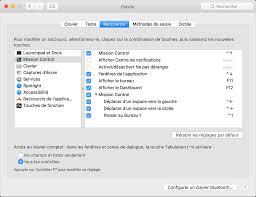 raccourci afficher bureau raccourcis vers les commandes d accessibilité mac assistance apple