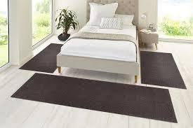 bettumrandung kräuselvelours schlafzimmer teppich