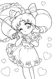 Awesome Projects Sailor Moon Coloring Pages