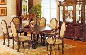 8 Dining Room Antique Table Magnificent And Chairs With In Antiques Sets