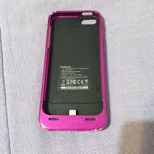 76% off Accessories Pink mophie iPhone 5 5s charging case from