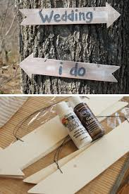 Wedding Signs For A Rustic