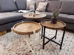 couchtische couchtisch wohnzimmer tisch rund ø 80