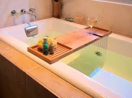 Teak Bathroom Corner Shelves by Accessories Lovable Bath Tub Tray Homemade Bathtub Shelf Image