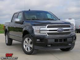 100 Black Ford Truck 2018 F150 Platinum 4X4 For Sale Pauls Valley OK