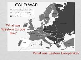 Iron Curtain Speech Cold War Definition by The Cold War A Look At Europe After World War Ii Ended Ppt Download