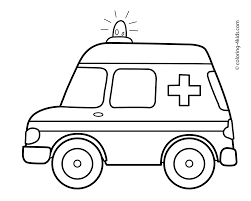 Download Coloring Pages Ambulance To And Print For Free