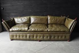 canapé anglais leather sofa vendu european antique warehouse