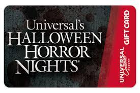 Halloween Horror Nights Florida Resident Code by Universal Orlando Gift Card Universal Orlando Resort