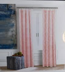 hilfiger pink medallion lucille damask window curtain panels 50x84