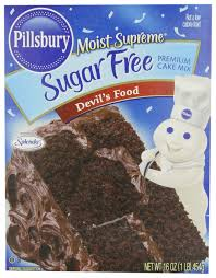 Amazon Pillsbury Moist Supreme Sugar Free Devil s Food Cake Mix 16 Ounces Pack of 6 Sugar Free Chocolate Cake Mix Grocery & Gourmet Food