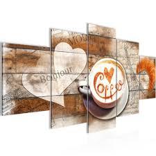 kaffee küche bild 200x100 cm fotografie auf vlies leinwandbild dekoration wandbilder modern kunstdruck mehrteilig 012851a