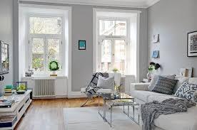 Light Gray Walls Living Room Art Croissance