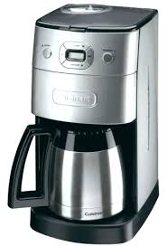 Cuisinart Coffee Maker Clean Button Red