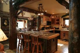 Log Cabin Kitchen Cabinet Ideas by Kitchen Design 20 Photos And Ideas Rustic Wooden Kitchen