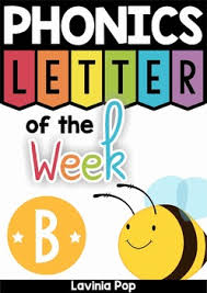 Alphabet Phonics Letter of the Week B by Lavinia Pop