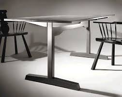 american trestle table trestle tables woodworking and dining
