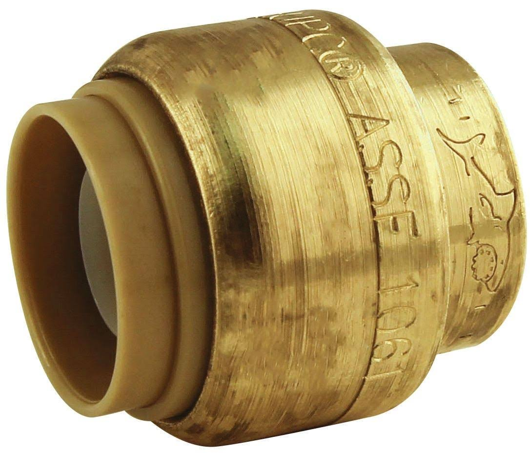 Sharkbite Push-To-Connect End Stop - Brass