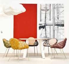 chaises en osier mobilier design fauteuil et chaises fleur bloom osier et matières