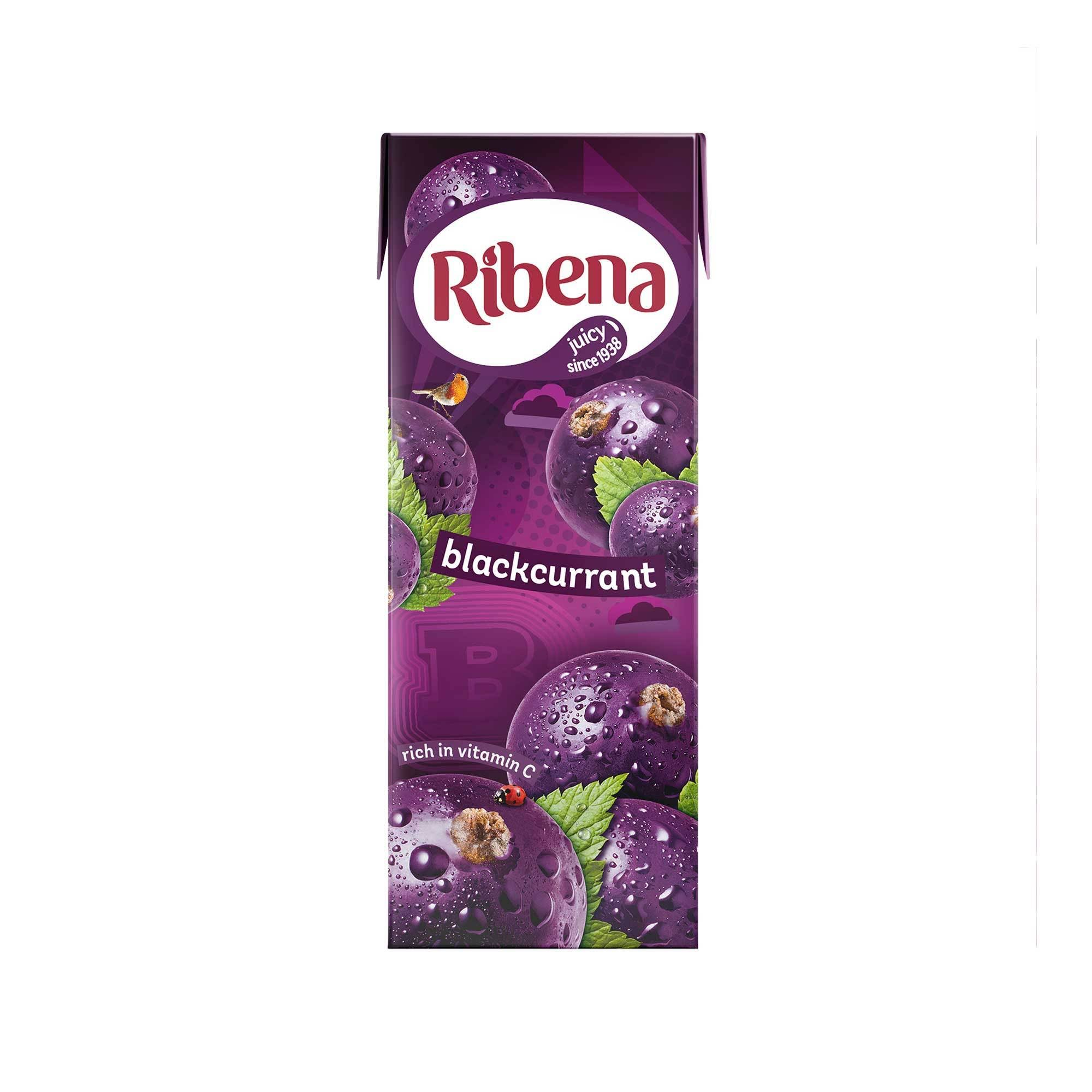 Ribena Fruit Juice - Blackcurrant, 250ml
