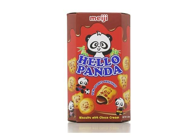Meiji Hello Panda Chocolate Cookie - 2oz, 10pk