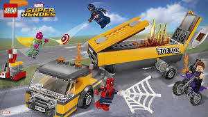 Tanker Truck Takedown - Wallpapers - LEGO® Marvel™ Super Heroes ...