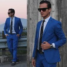 hugo plaid suit h m electric blue suit burberry classic tie and hugo boots