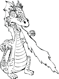 Printable Dragon Coloring Pages For Cartoon Free Dragons Ball
