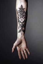 New Leaf Arm Tattoos Design On Inner Forearm