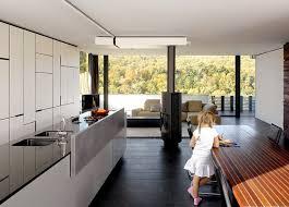 kaminofen verbindet wohn und essbereich bild 5 schöner