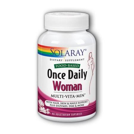 Solaray Once Daily Woman Multivitamin Capsules - 90 Capsules
