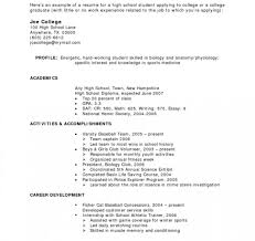 Resume Examples No Work Experience Sample Template For Retail Pertaining To College Students T Large