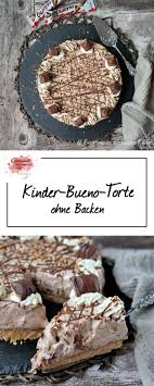 kuchen ohne backen kinder schokolade